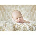 Grafika-01605 Konrad Bak: Baby sleeping in the Roses