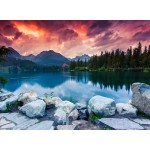 Grafika-01660 Parc National des Hautes Tatras, Slovaquie, Pologne