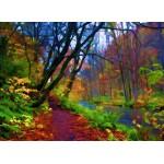 Grafika-01665 Forêt d'Automne Stylisée