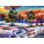 Grafika-01678 Winter Water