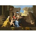 Grafika-01698 Nicolas Poussin : La Sainte Famille sur les Marches, 1648