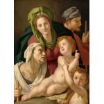 Grafika-01705 Agnolo Bronzino : La Sainte Famille, 1527/1528