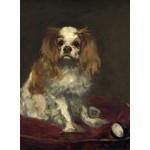 Grafika-01706 Edouard Manet : Un Cavalier King Charles Spaniel, 1866