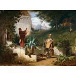Grafika-01717 Carl Spitzweg - Jugendfreunde, 1855