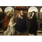 Grafika-01721 Jan van Eyck - Virgin and Child, with Saints and Donor, 1441