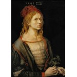 Grafika-01738 Albrecht Dürer - Auto-Portrait, 1493