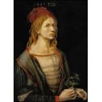 Grafika-01739 Albrecht Dürer - Auto-Portrait, 1493