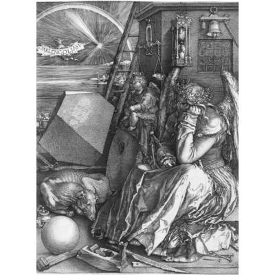 Grafika-01740 Albrecht Dürer - Melancholia, 1514