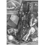Grafika-01741 Albrecht Dürer - Melancholia, 1514