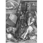 Grafika-01742 Albrecht Dürer - Melancholia, 1514