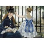 Grafika-01744 Edouard Manet : Le Chemin de Fer, 1873