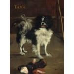 Grafika-01745 Edouard Manet : Tama : Le Chien Japonais, 1875