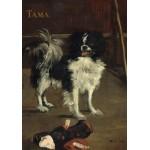 Grafika-01746 Edouard Manet : Tama : Le Chien Japonais, 1875