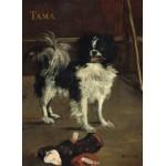 Grafika-01747 Edouard Manet : Tama : Le Chien Japonais, 1875