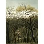 Grafika-01753 Henri Rousseau : Rendez-Vous dans la Forêt, 1889