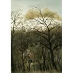 Grafika-01754 Henri Rousseau : Rendez-Vous dans la Forêt, 1889