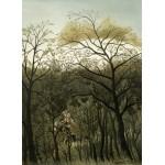 Grafika-01755 Henri Rousseau : Rendez-Vous dans la Forêt, 1889