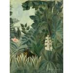 Grafika-01756 Henri Rousseau : La Jungle Equatoriale, 1909
