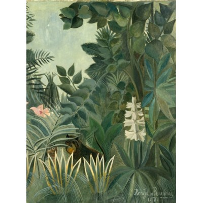 Grafika-01756 Henri Rousseau : La Jungle Equatoriale, 1909