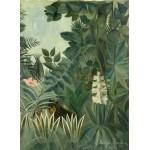 Grafika-01758 Henri Rousseau : La Jungle Equatoriale, 1909