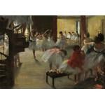 Grafika-01760 Edgar Degas : La Classe de Danse, 1873