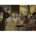 Grafika-01761 Edgar Degas : La Classe de Danse, 1873