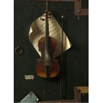Grafika-01773 William Michael Harnett : Le Vieux Violon, 1886