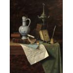 Grafika-01776 William Michael Harnett : Mes Trésors, 1888