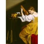 Grafika-01782 Orazio Gentileschi: La Joueuse de Luth, 1612/1620