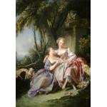 Grafika-01791 François Boucher : La Lettre d'Amour, 1750