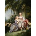 Grafika-01792 François Boucher : La Lettre d'Amour, 1750