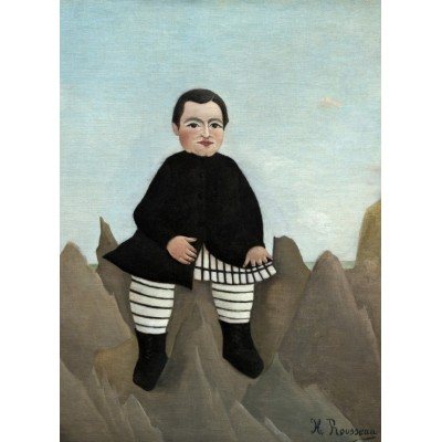 Grafika-01800 Henri Rousseau : Garçon sur un Rocher, 1895/1897