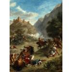 Grafika-01801 Eugène Delacroix : Arabes tiraillés dans les montagnes