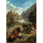 Grafika-01802 Eugène Delacroix : Arabes tiraillés dans les montagnes