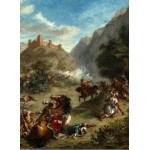 Grafika-01803 Eugène Delacroix : Arabes tiraillés dans les montagnes