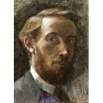 Grafika-01808 Edouard Vuillard : Autoportrait à l'Age de 21 ans, 1889