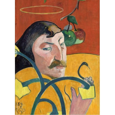 Grafika-01821 Paul Gauguin : Autoportrait, 1889