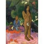 Grafika-01827 Paul Gauguin : Parau na te Varua ino (Mots du Diable), 1892