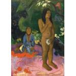 Grafika-01828 Paul Gauguin : Parau na te Varua ino (Mots du Diable), 1892