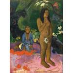 Grafika-01829 Paul Gauguin : Parau na te Varua ino (Mots du Diable), 1892