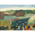 Grafika-01833 Paul Gauguin : Meules de Foin en Bretagne, 1890