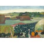 Grafika-01835 Paul Gauguin : Meules de Foin en Bretagne, 1890