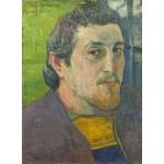 Grafika-01836 Paul Gauguin : Autoportrait Dédicacé à Carrière, 1888-1889