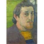 Grafika-01837 Paul Gauguin : Autoportrait Dédicacé à Carrière, 1888-1889