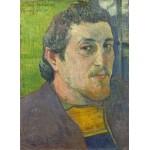 Grafika-01838 Paul Gauguin : Autoportrait Dédicacé à Carrière, 1888-1889