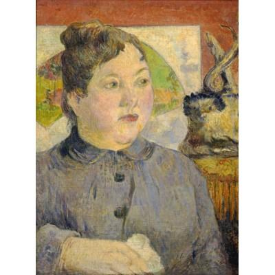 Grafika-01844 Paul Gauguin : Madame Alexandre Kohler, 1887-1888