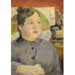 Grafika-01845 Paul Gauguin : Madame Alexandre Kohler, 1887-1888