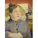 Grafika-01846 Paul Gauguin : Madame Alexandre Kohler, 1887-1888