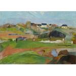 Grafika-01848 Paul Gauguin : Paysage à Pouldu, 1890