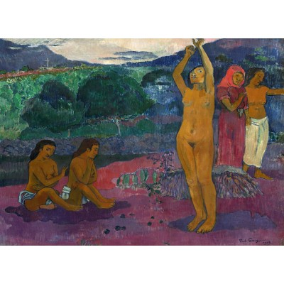 Grafika-01852 Paul Gauguin : L'Invocation, 1903